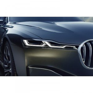 BMW Future Luxury: Laserlicht in Serie