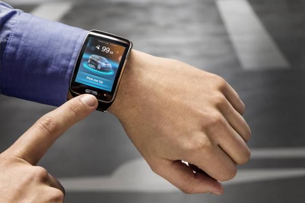 Das smart-phone holt schon mal den Wagen