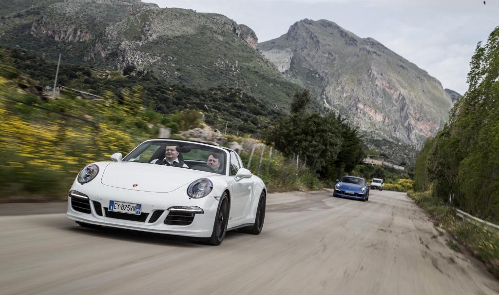 Die Targa Florio verlangte den Fahrern alles ab – damals...  (Fotos Porsche)