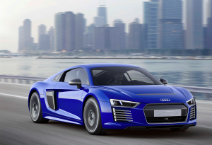 Technik-Studie: Audi stellt auf der CES Asia den R8 e-tron piloted driving vor