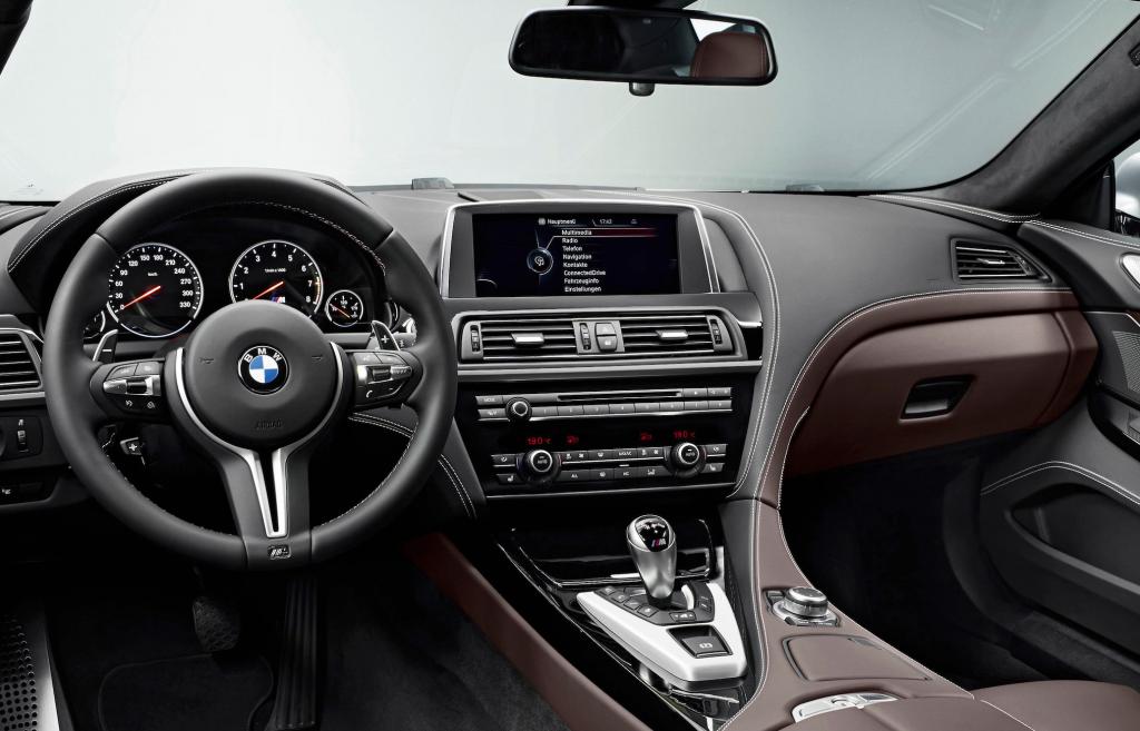 M6-Cockpit: Perfekte Ergonomie und Verarbeitung   Foto: BMW