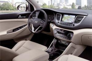Das Cockpit erfüllt hohe Ansprüche an Form, Material und Verarbeitung        Fotos: Hyundai