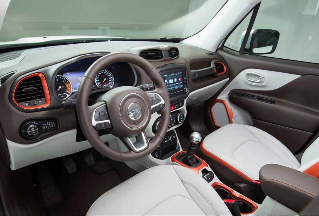 Das Cockpit glänzt mit originellen Details