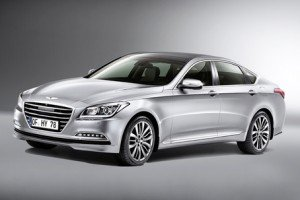 Hyundai Genesis: The similarity to Audi is no accident