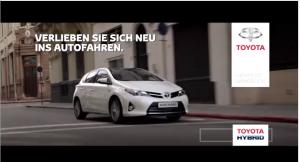 Toyota Hybrid Werbung