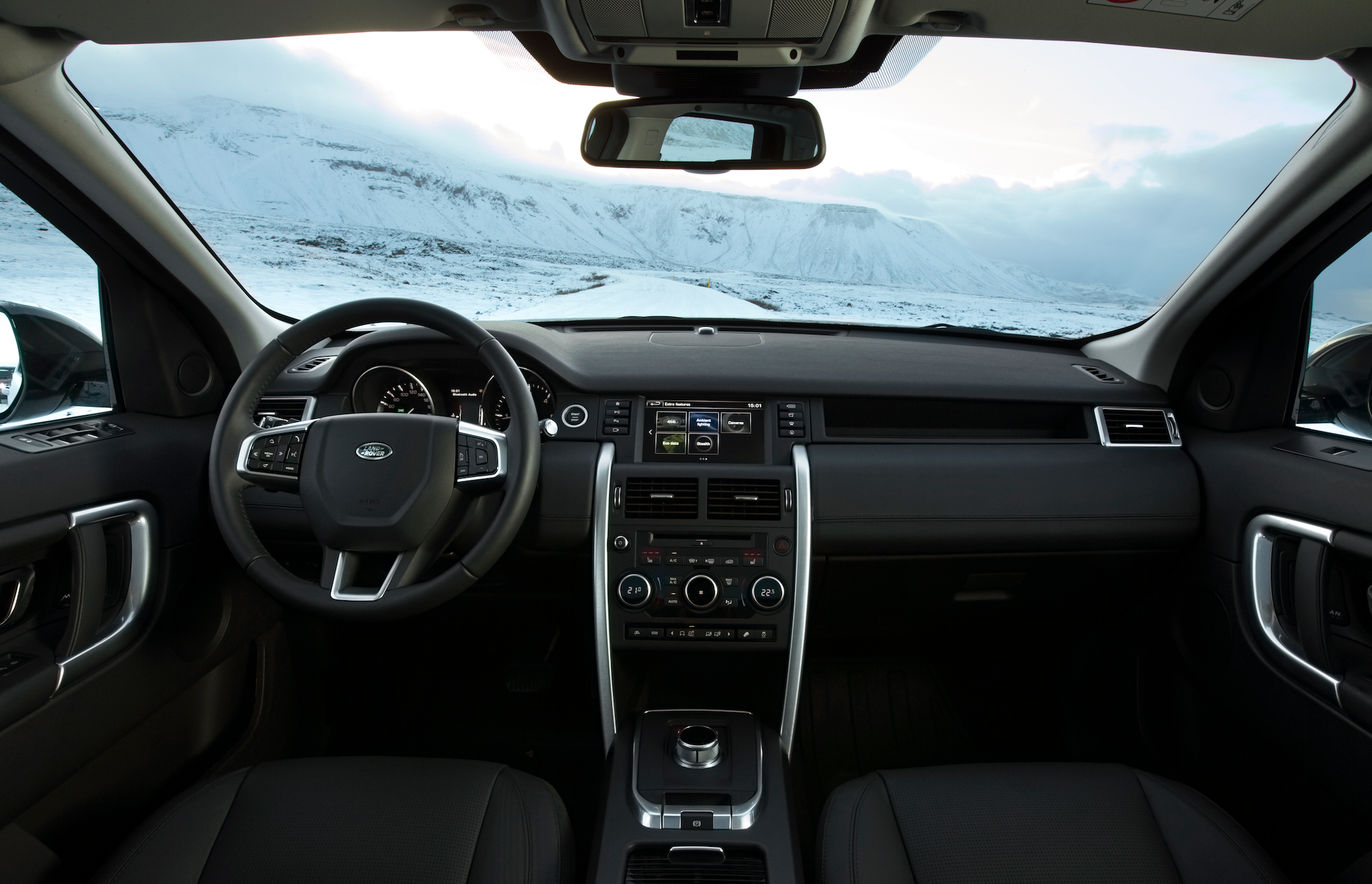 The increase in quality can also be felt in the new Discovery Sport (Photo: Land Rover)