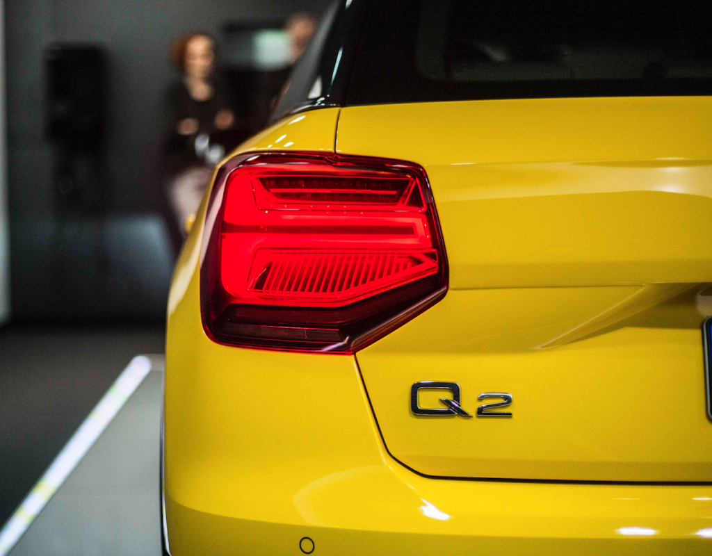 Audi Q2: Design-Logik in Perfektion Fotos: Audi