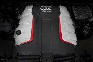 Schön stark - der V8 Diesel bietet ein Drehmoment von 920 Newtonmetern