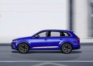 Der Audi SQ7 ist bei aller Sportlichkeit eine elegante Erscheinung geblieben