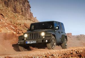 Auch den Jeep Wrangler gibt es nun als Jubelversion