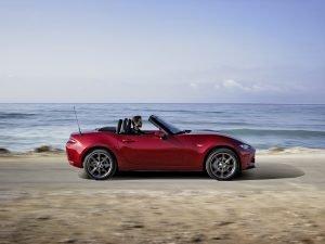 Klein, knackig und ein Leichtgewicht: Mazda MX-5 Fotos: Mazda