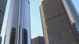 GM Zentrale in Detroit